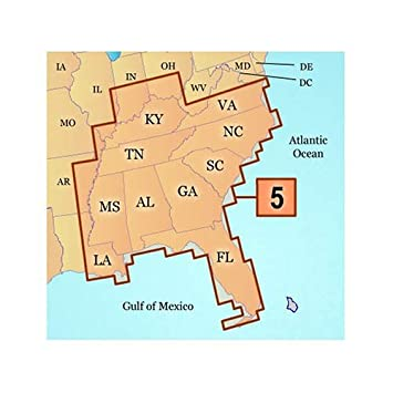 Amazon.com: Garmin mapsource U.S. Inland Lagos Southeast ...