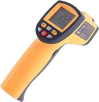 Kkmoon Thermometer 50 Bis 900 Celsius 58 Bis 1652 Fahrenheit Berührungsloses Ir Thermometer Pyrometer Mit Lcd Beleuchtung Temperaturmessgerät Temperaturmesser Alarm Max Min Avg Dif Anzeige Baumarkt