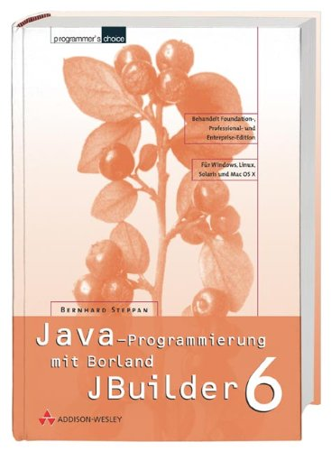 Java-Programmierung mit dem Borland JBuilder 6 (Programmer's Choice)