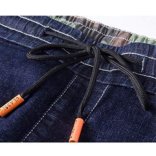 Blau E Da Larghi Classiche Pantaloni Ragazzi Jeans Estate Ed Uomo Primavera Sportivi Ufige Stazsx OqawTxSZ