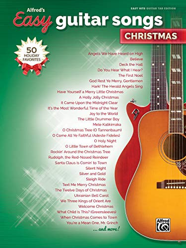 Songs Guitar Fingerpicking - Alfred's Easy Guitar Songs -- Christmas: 50 Christmas Favorites