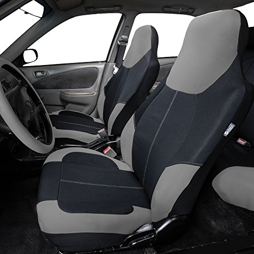 FH Group FB116GRAY115 Gray Neoprene Seat Cover - Neoprene Car Seat Covers
