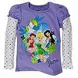 Disney Fairies - Fairy Fabulousness Girls Juvy 2fer Long Sleeve T-Shirt