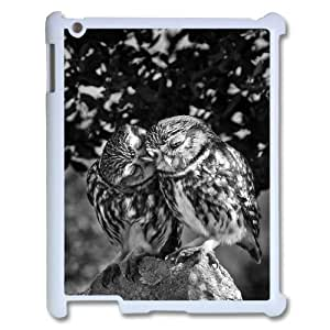 Owl Wholesale DIY Cell Phone Case Cover for iPad 2,3,4, Owl iPad 2,3,4 Phone Case