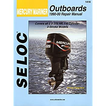 Amazon.com: Mercury Engine Repair and Maintenance Manual ...