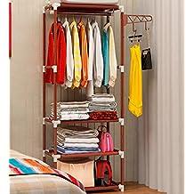 Coat Racks For Simple Closet ( Color : Brown )