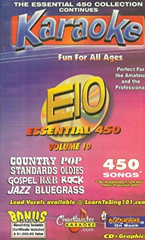 Chartbuster Essential 450 Collection Vol. 10 CD+G Pack - Chartbuster Essential 450 Collection