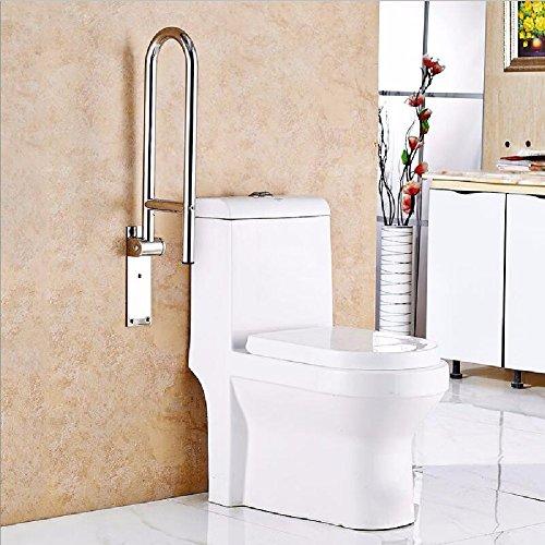 WAWZJ Handrail Stainless Steel U Toilet Armrest by WAWZJ-Handrail