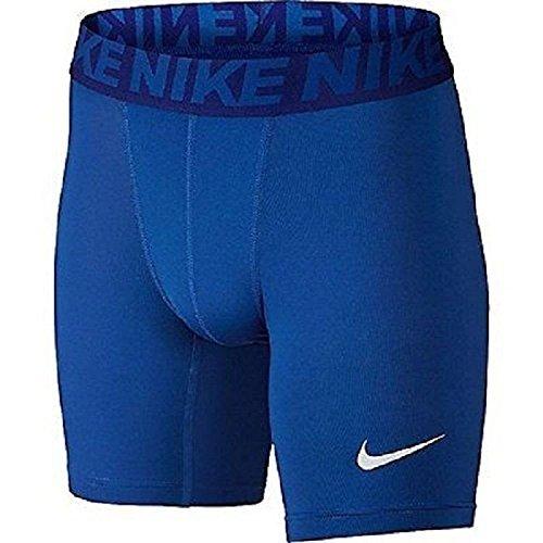 Nike Boys' Cool Baselayer Compression Shorts (Small, Game Royal (480) / Game Royal/White)
