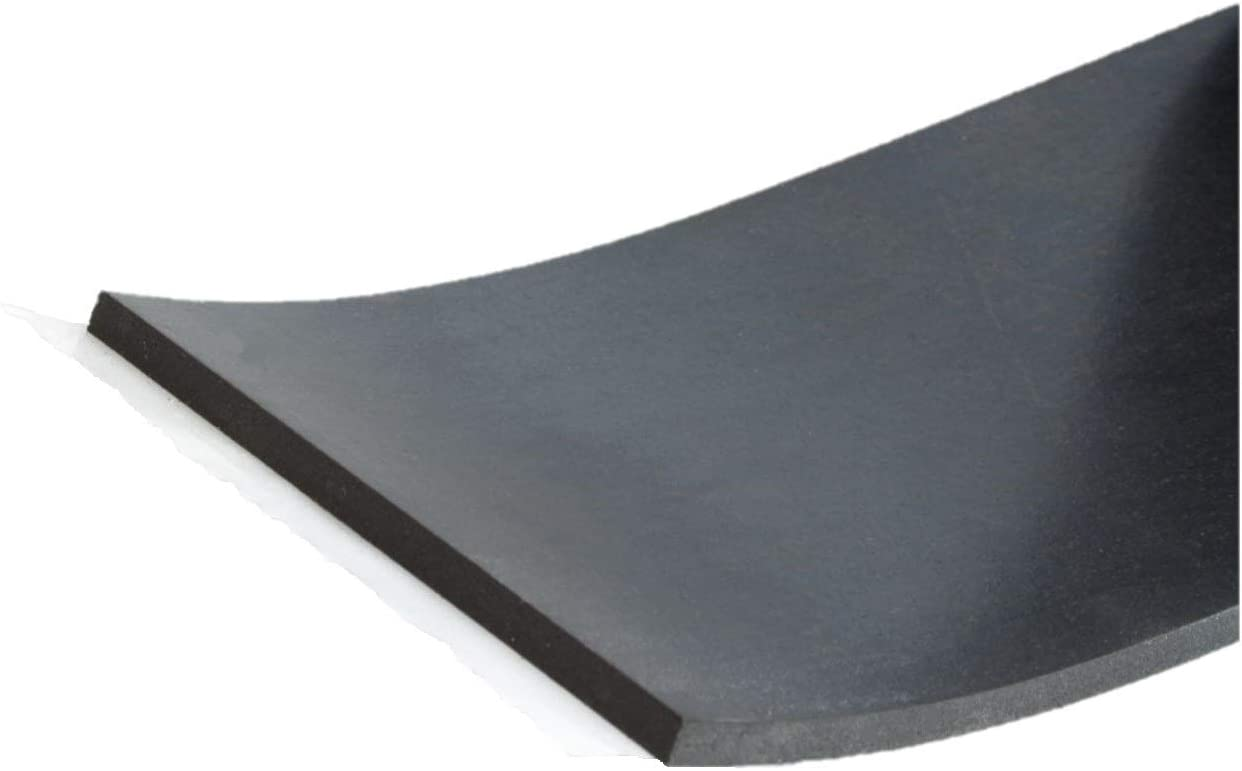 St/ärke 3 mm in verschiedenen Gr/ö/ßen w/ählbar Gummi-Matte-Platte Vollgummi Sch/ürfleiste Hartgummi Gummistreifen