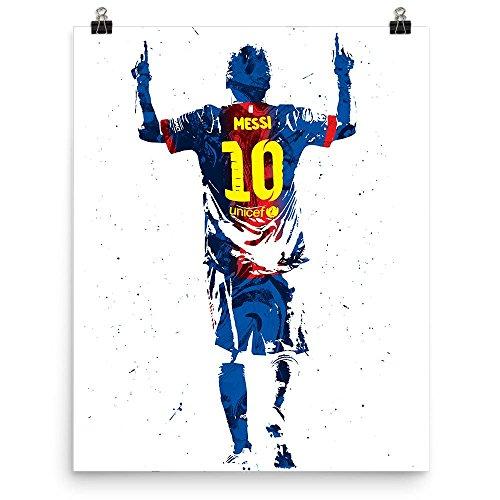 Lionel Messi Futbol FC Barcelona Poster (Poster Lionel Messi)