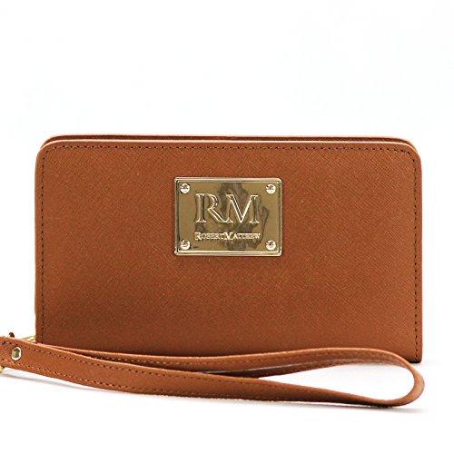 robert-matthew-aria-24k-gold-leather-wallet-wristlet-brown-jewel