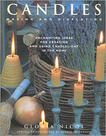 Book Candles: Making and Displaying
