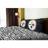 NFL Anthem Pittsburgh Steelers Bedding Sheet Set: Full