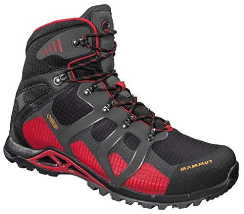 Mammut 3020-04370 Hombres Comfort High Gtx Surround Negro / Inferno