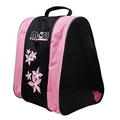 SHENGXIA Inline Roller Skates Carrying Shoulder Bag Ice Skating Shoes Bag Pink ()