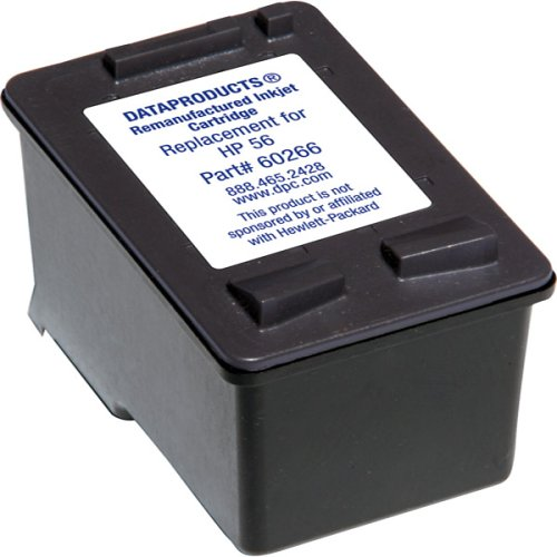 Remanufactured Black Ink Cartridge for HP 56 (Remanufactured Ink C6656an 56)