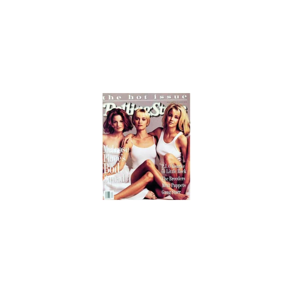 Rolling Stone Cover of Cast of Melrose Place (Women) / Rolling Stone Magazine Vol. 682, May 19, 1994, Movie Print by Mark Seliger