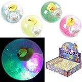 HONGBO TOYS Ball HI Bounce Light UP 12 Pieces for Babys Kids Girl BOY