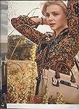 MAGAZINE ADVERTISEMENT With Chloe Grace Moretz For 2015 Coach Tan Handbags