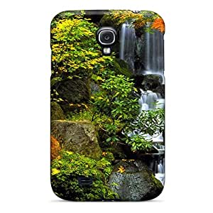 Premium AiraK9688UcofS Case With Scratch-resistant/ Autumn Waterfall Case Cover For Galaxy S4
