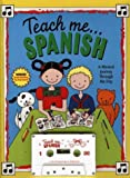 Teach Me Spanish (Paperback and Audio Cassette): A Musical Journey Through the Day