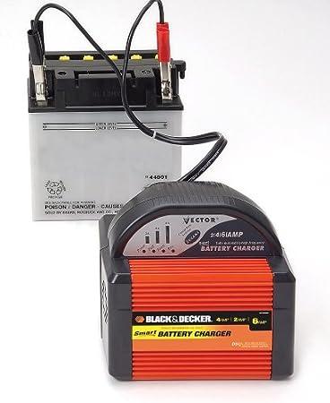 Amazon.com: BLACK+DECKER VEC1086BBD Smart Battery 6/4/2 Amp ...