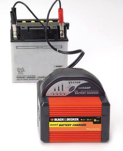 Amazon Com Black Decker Vec1086bbd Smart Battery 6 4 2 Amp Battery