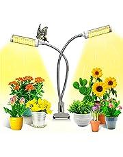 Plantenlamp, KagoLing LED Plantenlicht voor Kamerplanten met 100 LEDS Volledige Spectrum led-groeilamp, groeilamp 360 ° Verstelbare Zwanenhals 3 Timer Modes voor Bloem Fruit Zaden Vetplanten Groei