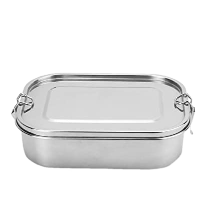 c5aaa5b39b2f Amazon.com - BESTONZON Stainless Steel Lunch Box Food Container ...