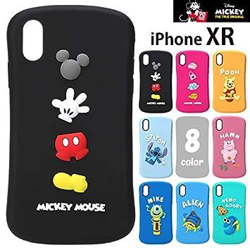 9296cfeb88 【カラー:ハム】iPhoneXR ディズニー シリコンケース ソフトケース ソフト ケース キャラクター シリコン シンプル