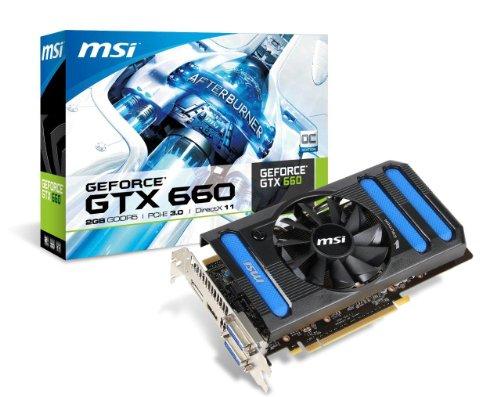 (MSI NVIDIA GeForce GTX 660, 2GB GDDR5, PCI Express 3.0 Graphics Card N660-2GD5/OC)