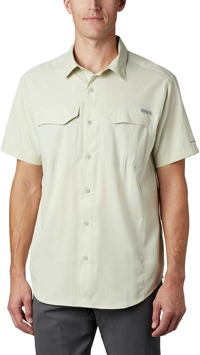 Columbia 哥伦比亚 Silver Ridge Lite UPF 40防晒速干 男式短袖衬衫 4折$23.66 海淘转运到手约¥177