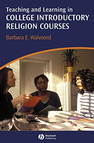 Read Online Teaching and Learning in College Introductory Religion Courses ebook