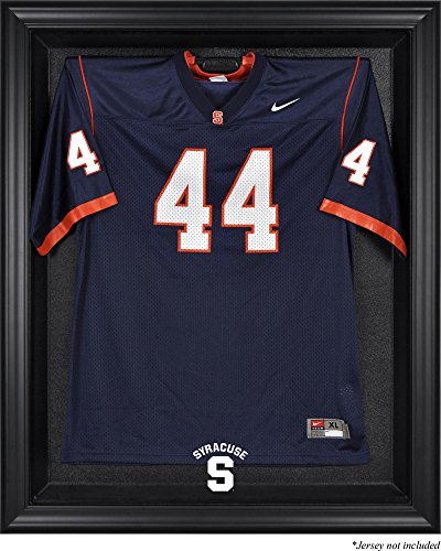Syracuse Orange Black Framed (2015-Present Logo) Jersey Display Case - Fanatics Authentic Certified - College Jersey Logo Display Cases by Sports Memorabilia