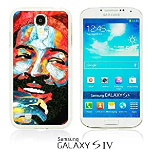 OnlineBestDigitalTM - Celebrity Star Hard Back Case for Samsung Galaxy S4 IV I9500 / I9505 - Marvin Gaye