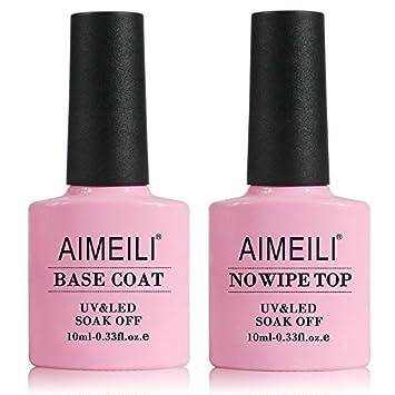 AIMEILI Esmalte Semipermanente Para Uñas Soak Off UV LED Uñas De Gel Color Combinado/Color De La Mezcla/Multicolur Set 6 X 10ml - Set 22