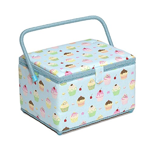 blue sewing basket - 5