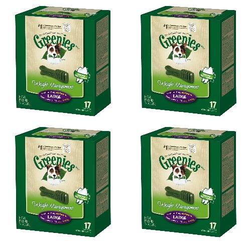Greenies Weight Management 4 Mega 27oz Tubs 108oz 68 Bones Large