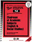Chairman, Academic Subjects (English and Social Studies), Rudman, Jack, 0837381517
