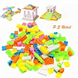 P S Retail 144Pcs/Set Plastic Modeling Building Bricks Kids Toy