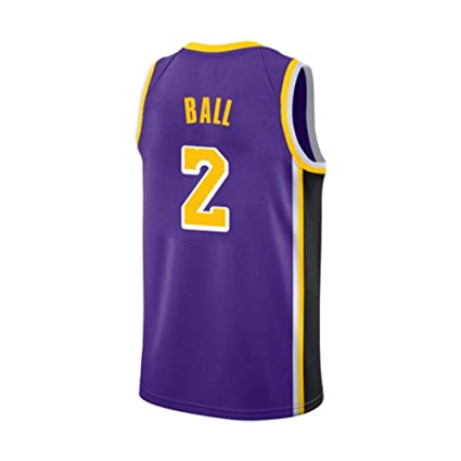 Retro Nuova Abbigliamento Stagione Lakers Lafe Nba Viola Basket XZiTPkwOu