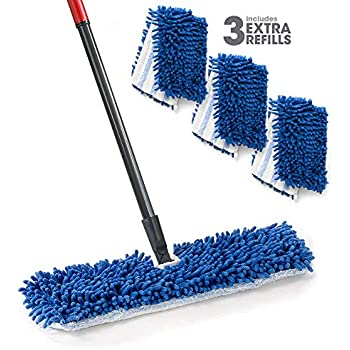 Amazon Com O Cedar Dual Action Microfiber Flip Mop With