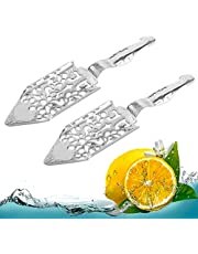 2 Pieces Stainless Steel Absinthe Spoons ORNOOU Wormwood Cocktail Bar Glass Cup Drinking Filter Vintage