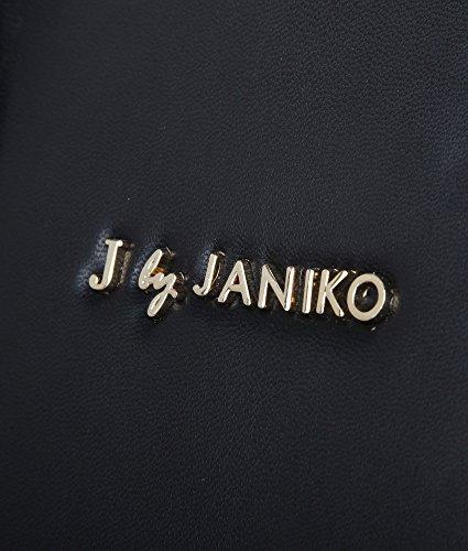 J. by Janiko, Borsa a mano donna Nero nero Breite 40 cm, Höhe 28 cm, Tiefe 15 cm