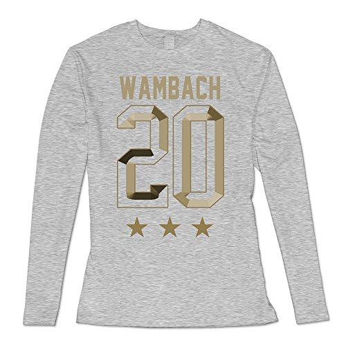 USA Abby Wambach Hero Replica Long Sleeve T Shirt- White ()