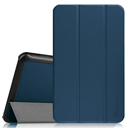 Fintie Slim Shell Case for Samsung Galaxy Tab E 8.0, Super Slim Lightweight Standing Cover for Samsung Galaxy Tab E 32GB SM-T378 / Tab E 8.0-Inch SM-T375 / SM-T377 Tablet, Navy