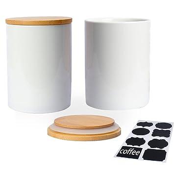 keramikdose für kaffeebohnen