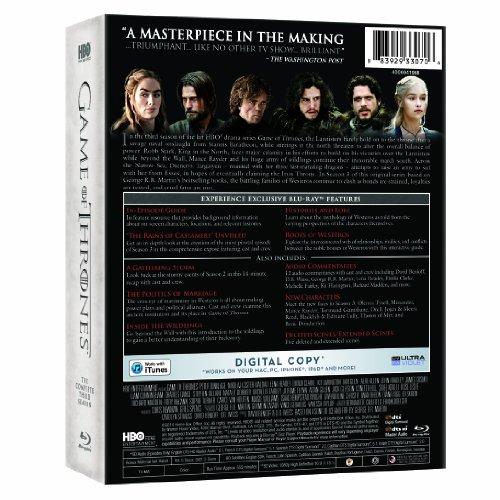 Game Of Thrones: Complete Third Season 7 Blu-Ray Edizione ...