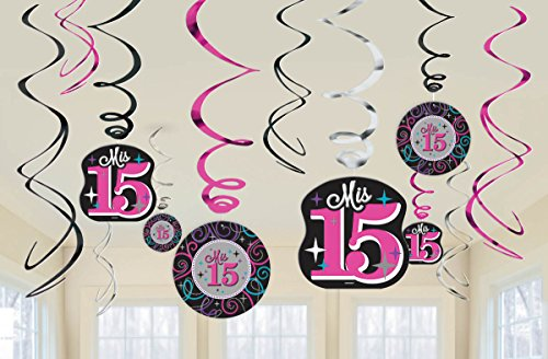 Elegant-Mis-Quince-Aos-Value-Pack-Foil-Swirl-Birthday-Party-Decorations-12-Pack-Multi-Color-7